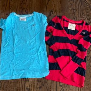 Hollister Bundle ,sweater and tshirt